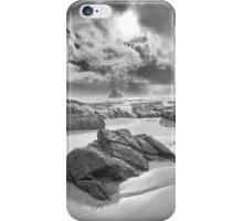 Storm, Anchor Bay, Mendocino County, California iPhone Case/Skin