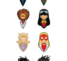 Young Justice - Collective Sticker
