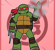 TMNT 2012 - Raph by TMNT-Raph-fan