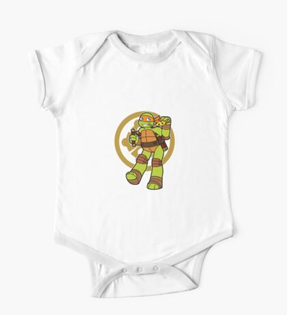 TMNT 2012 - Mikey One Piece - Short Sleeve