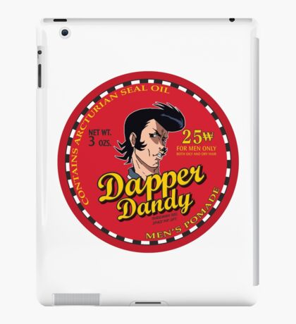 Space Dandy - Dapper Dandy iPad Case/Skin