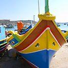 Maltese Fishing Boat by Tom Gomez