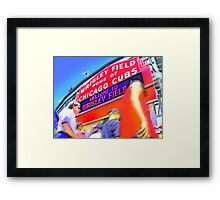 game day one Framed Print