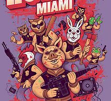 Hotline Miami by supornah
