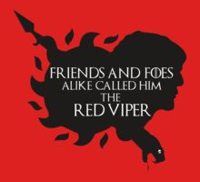 Oberyn Martell- Red Viper (Black) by mersanto