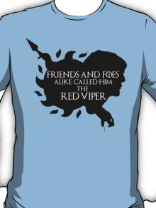 Oberyn Martell- Red Viper (Black) T-Shirt