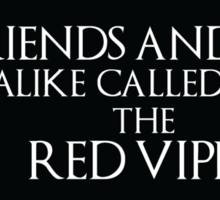 Oberyn Martell- Red Viper (Black) Sticker