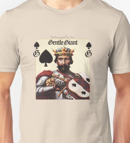 Gentle Giant - The Power and The Glory Unisex T-Shirt