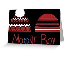 Moone Boy Hats Greeting Card