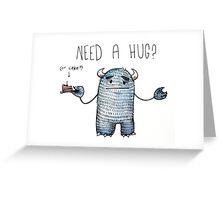 Need a hug?  Greeting Card