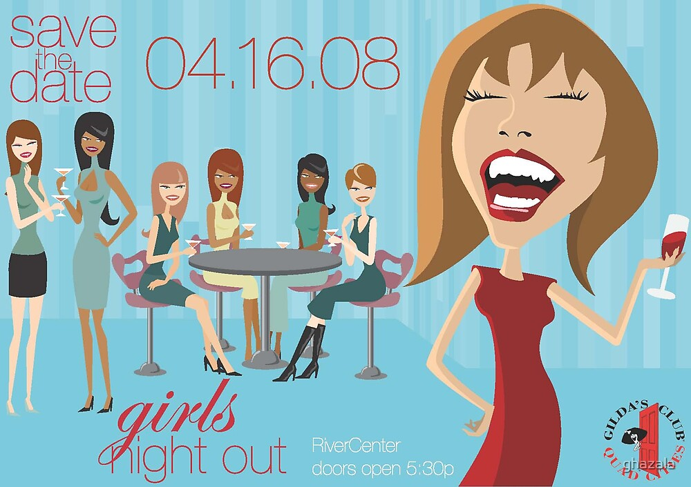 Fundraising Event Save-the-Date Postcard by ghazala