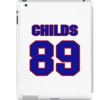 National football player Henry Childs jersey 89 iPad Case/Skin
