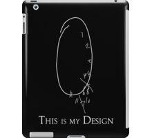 This is my Design- Clock Test iPad Case/Skin