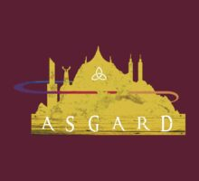 Asgard (The Cities of Comics) by thatKONNORguy