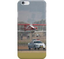 """""""Pull Over Sir"""" @ Mudgee Air Show 2007 iPhone Case/Skin"""