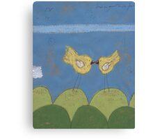 A Summer Kiss Canvas Print