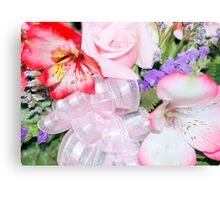 Boquet With Bow Canvas Print