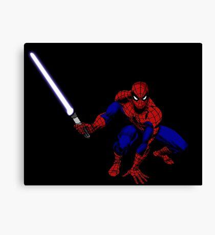 Spider-Man: Jedi Master Canvas Print