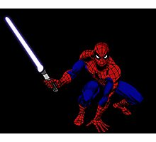 Spider-Man: Jedi Master Photographic Print