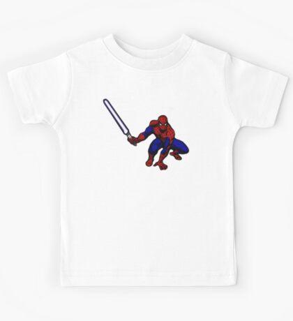 Spider-Man: Jedi Master Kids Tee