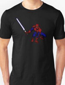 Spider-Man: Jedi Master Unisex T-Shirt