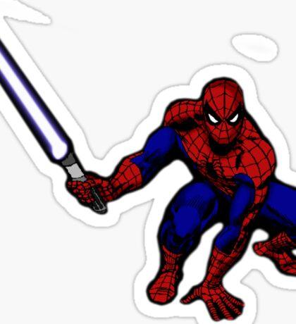 Spider-Man: Jedi Master Sticker