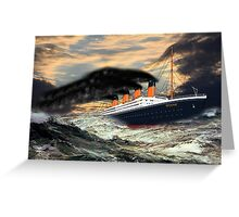 RMS Titanic, the Legend - all products Greeting Card