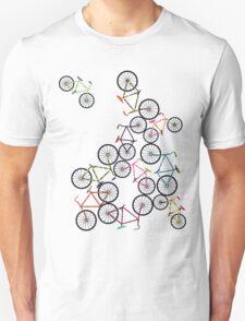 Bicycles Unisex T-Shirt