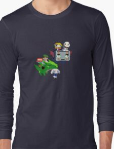Cave Story - Fly Away Long Sleeve T-Shirt