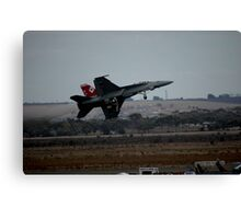 F-18 - Peel-off After Take-off, 2007 Canvas Print
