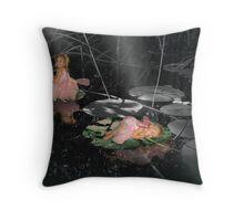 Enchanted Pond - version 2 Throw Pillow