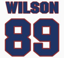 National football player Charles Wilson jersey 89 by imsport