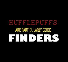 hufflepuffs- FINDERS by thatthespian