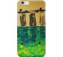 Marina Bay Sands - Black Gold iPhone Case/Skin