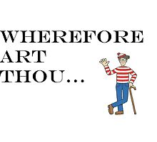 Wherefore is waldo by MikeJustGaming
