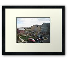 Apt location awesome Framed Print