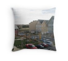 Apt location awesome Throw Pillow