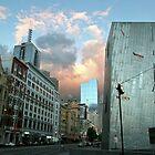 Dusk on Flinders Street  by Chris Allen
