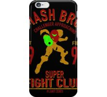 Planet Zebes Fighter iPhone Case/Skin