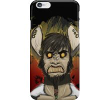 Nadir, the Deadly Wild Dog iPhone Case/Skin