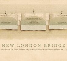 New London Bridge by Justin Fagence