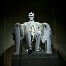 Lincoln In The Memorial by Judson Joyce