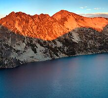 Sawtooth Lake Panorama by Nolan Nitschke