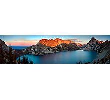 Sawtooth Lake Panorama Photographic Print