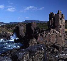Rock Formations, Bombo Coastline, Australia by muz2142