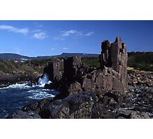 Rock Formations, Bombo Coastline, Australia Photographic Print