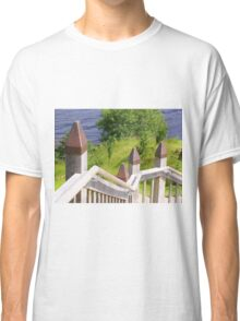Outdoor Stairway at Urquart Castle Classic T-Shirt