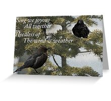 Wind & Weather Greeting Card