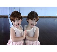 seeing double Photographic Print