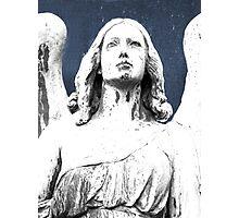 Illuminating angel Photographic Print